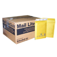 Mail Lite Gold Padded Envelopes B / 00 120mm x 210mm